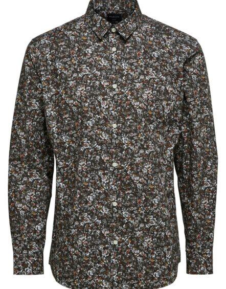 Selected Skjorte – Slim Lit-Vasteras Multi