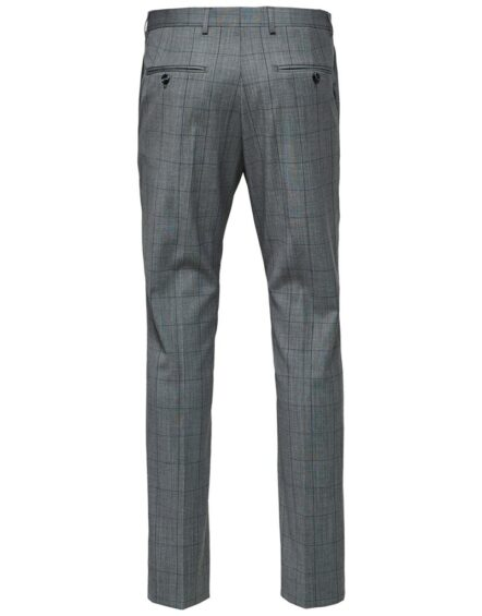 SELECTED Bukser - Grey Check | Gate 36 9500 Hobro | Herretøj |