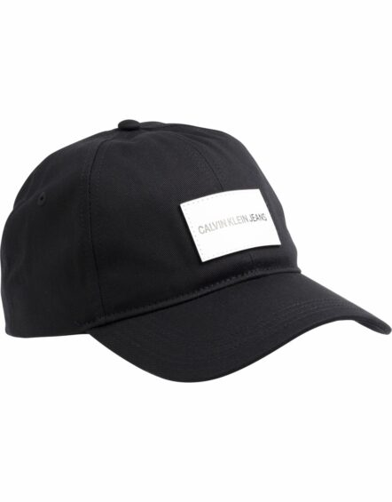 Calvin Klein – Badge Logo Cap Black