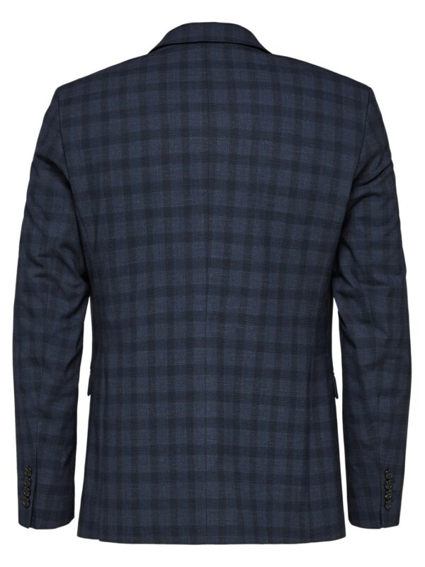 Selected - Slim New One Navy Check | Gate 36 9500 Hobro | Herretøj