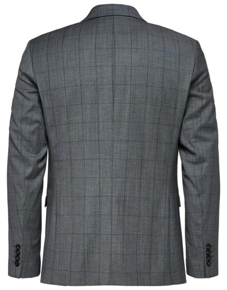 Selected - Slim Grey Check | Gate 36 9500 Hobro | Herretøj