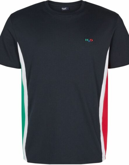 H2O Club T-Shirt Navy/Green/Red