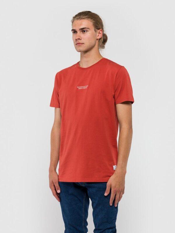 RVLT T-Shirt - 1108 Bad Red   Gate 36 Hobro   Herretøj