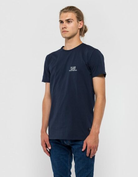 RVLT T-Shirt – 1108 Eat Navy