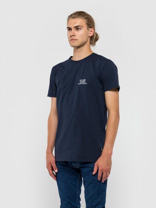 RVLT T-Shirt - 1108 Eat Navy | Gate 36 Hobro | Herretøj