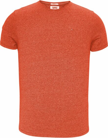 TOMMY JEANS Jaspe T-shirt Red