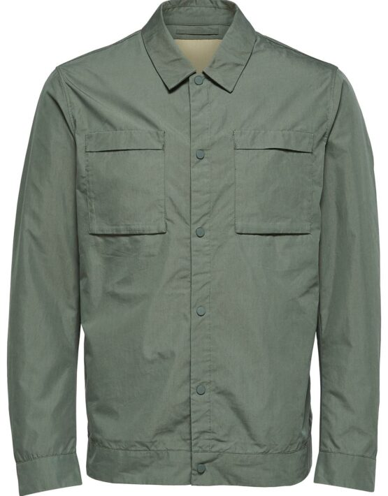 SELECTED Overshirt Thyme