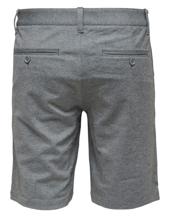 ONLY & SONS - Mark Shorts Mid Grey Mel | Gate 36 Hobro | Herretøj