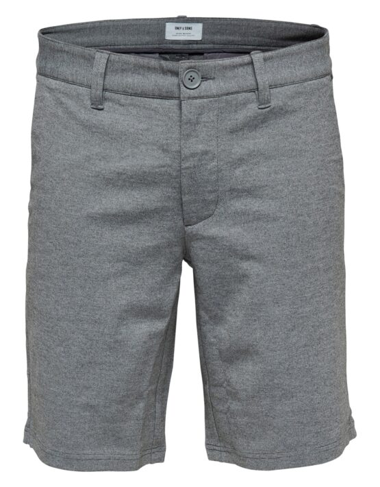 ONLY & SONS – Mark Shorts Mid Grey Mel