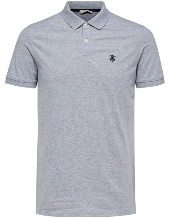 SELECTED Aro Polo Grey