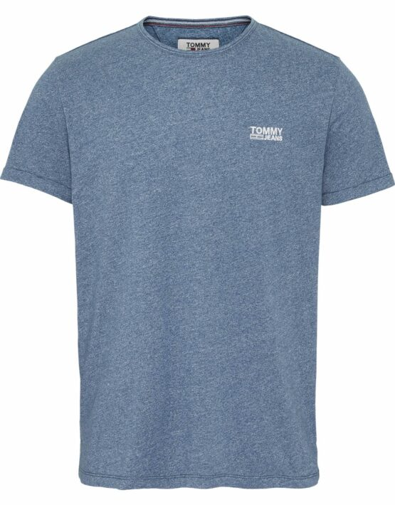 Tommy Hilfiger T-shirt Jaspe Saxony Blue