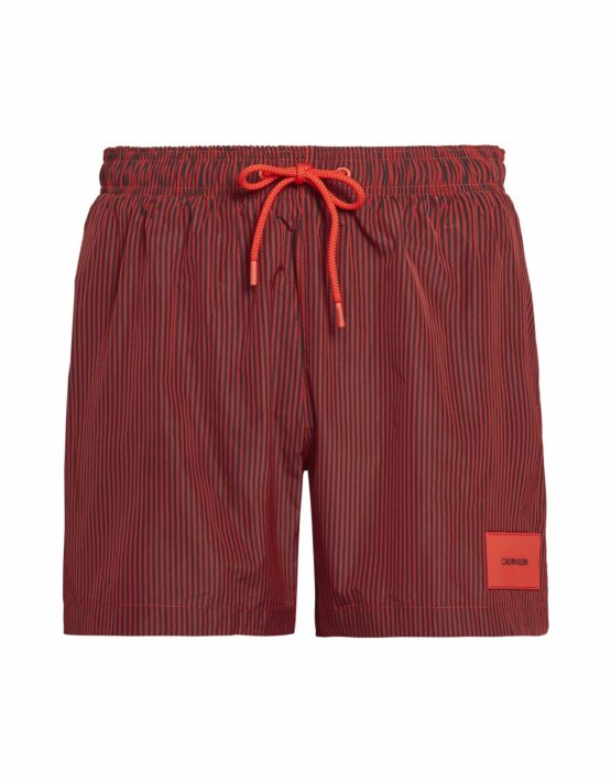 Calvin Klein – Medium Drawstring Stripe Red & Black
