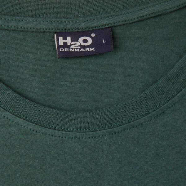 H2O Lind T-Shirt Dark Green | Gate 36 Hobro | Herretøj