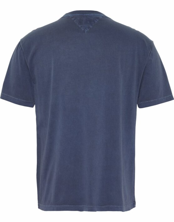 Tommy Hilfiger T-shirt hand write tee Blue | GATE36 HOBRO