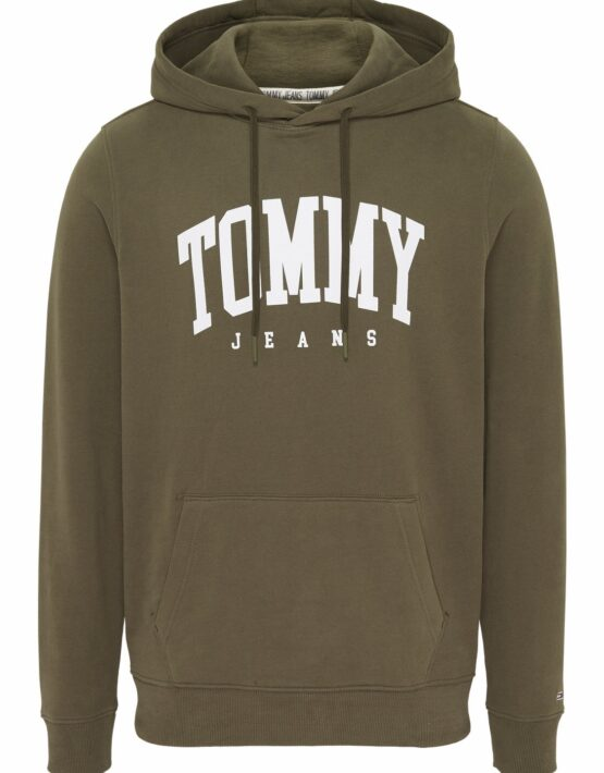TOMMY HILFIGER Essential Hoodie Green