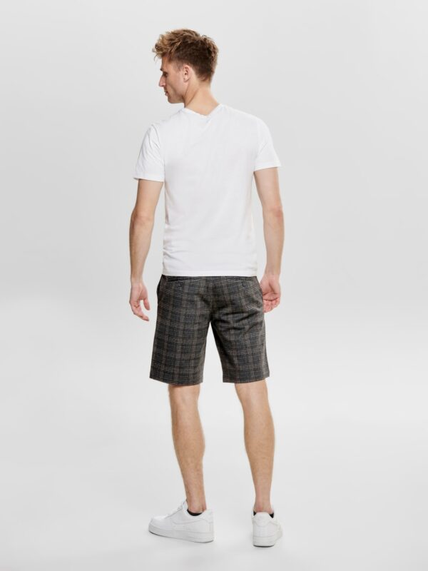 only & sons mark check shorts   GATE36 Hobro