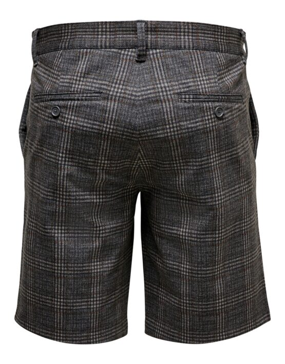 only & sons mark check shorts | GATE36 Hobro
