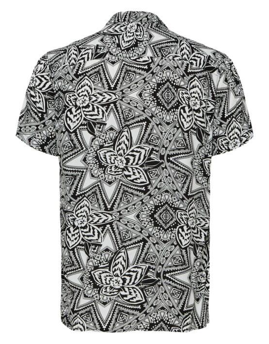 SELECTED REGVEGA Skjorte White/black | GATE36 Hobro
