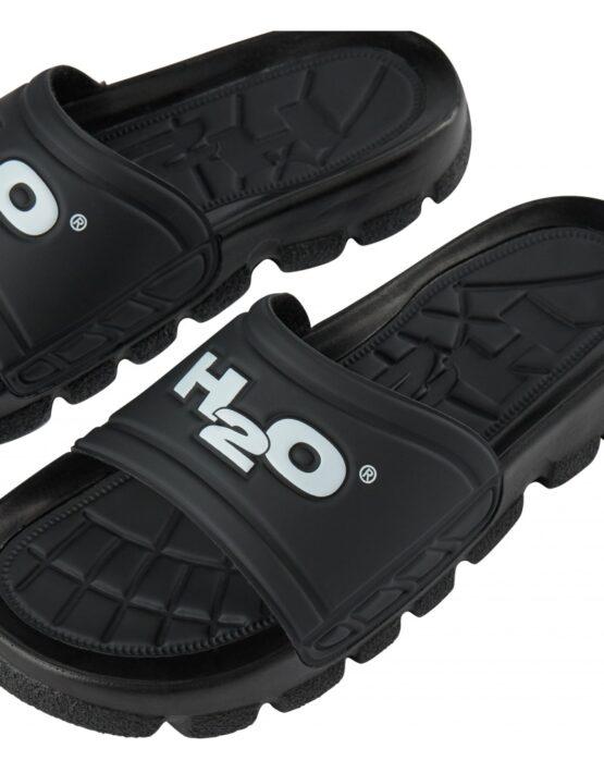H2O Badesandal – Trek Sandal Black/White