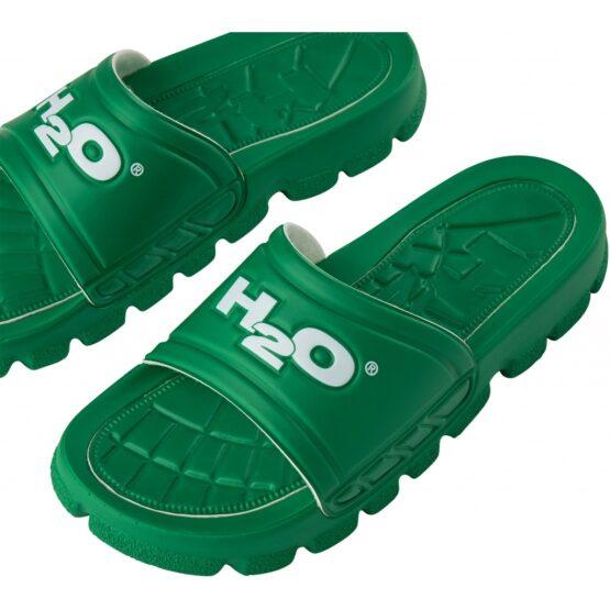 H2O Badesandal - Trek Sandal Green/White   Gate 36 Hobro