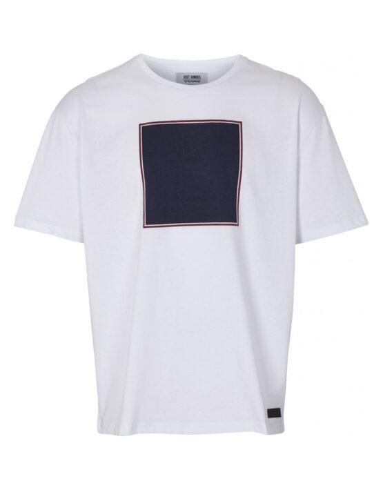 Just Junkies – T-shirt JJ1402 MINDO – WHITE