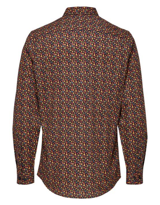 Selected Skjorte - Slim Lugh Shirt AOP | GATE36 HOBRO