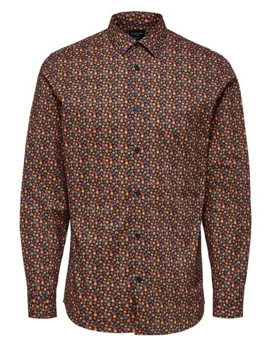 Selected Skjorte – Slim Lugh Shirt AOP