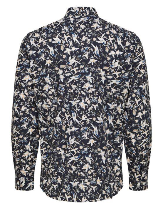 Selected Skjorte - Slim Rory Shirt AOP | GATE36 HOBRO
