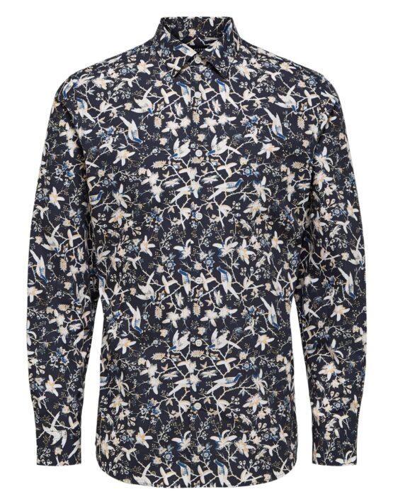 Selected Skjorte – Slim Rory Shirt AOP