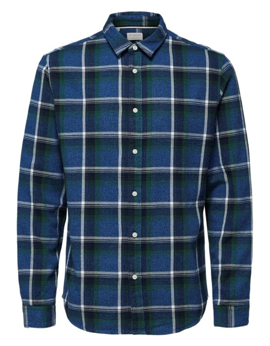 Selected Skjorte – Reg Niels Shirt Forest Check