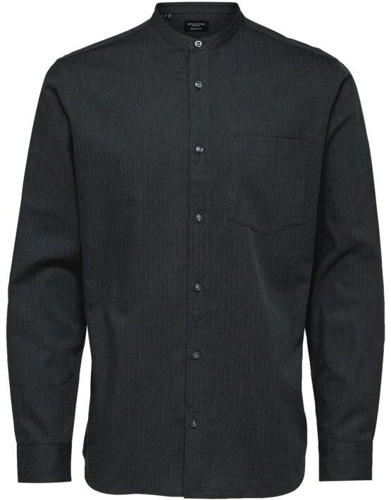 Selected Skjorte – Reg Mart Shirt Grey