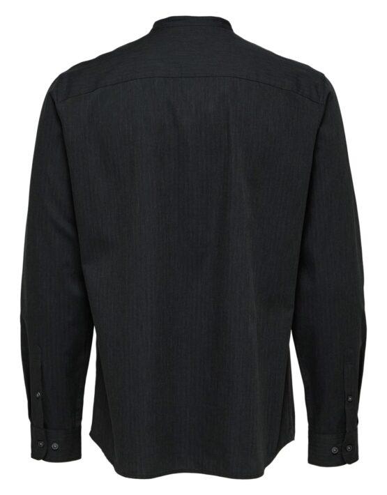 Selected Skjorte - Reg Mart Shirt Grey | GATE36 HOBRO