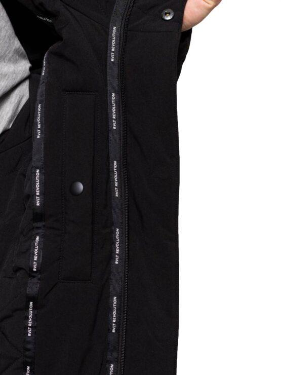 RVLT - Jacket 7661 Parka Black   GATE36 Hobro