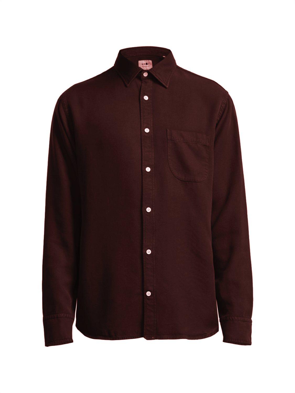 NN07 Skjorte Errico pocket red | GATE36 Hobro