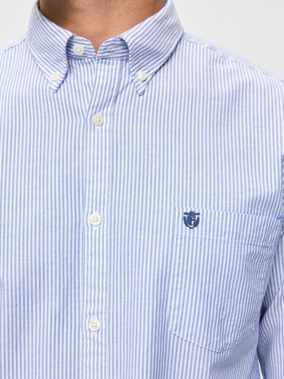 SELECTED Skjorte - Collect Stripe | GATE36 Hobro