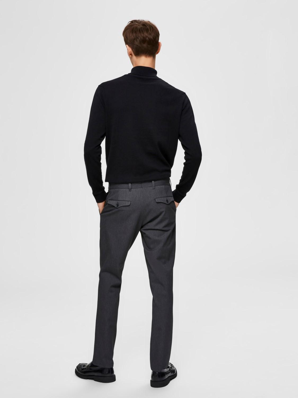 SELECTED Slimfit Bukser Grey | Gate36 Hobro