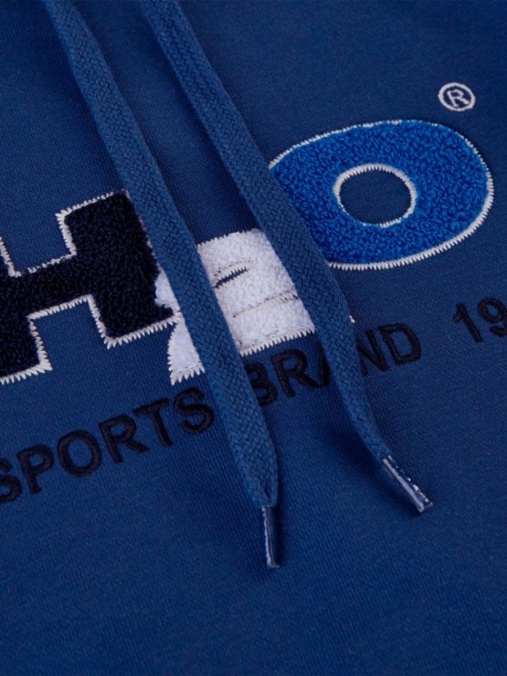 H2O Hoodie - Absalon Logo Light Navy | GATE 36 Hobro