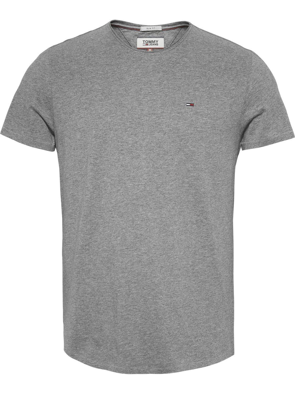 Tommy Hilfiger - JASPE T-Shirt GREY | GATE36 Hobro