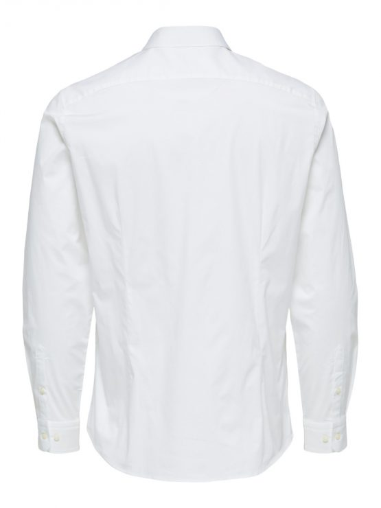 Selected Skjorte - Slim Michigan White | GATE36 Hobro