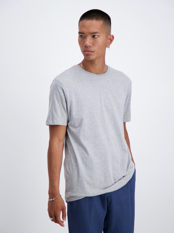 Junk De Luxe - Basis T-shirt Grå | GATE 36 Hobro