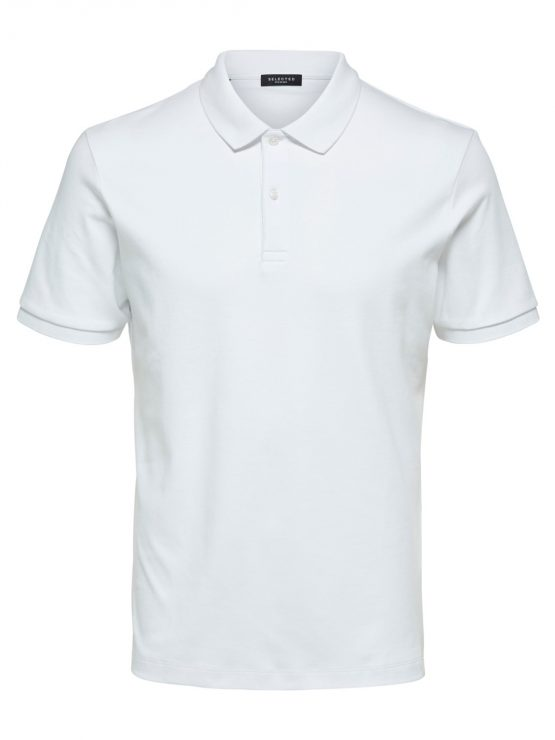 Selected - Slhparis polo White | Gate36 Hobro