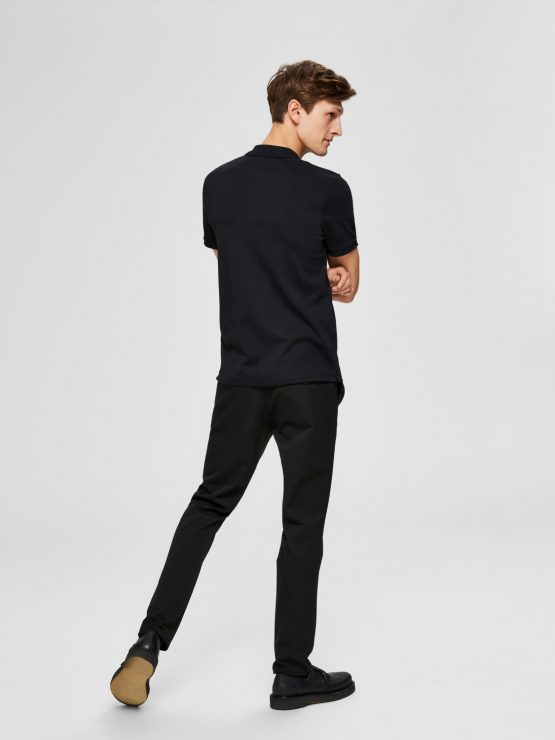 Selected - Slhparis polo black | Gate36 Hobro