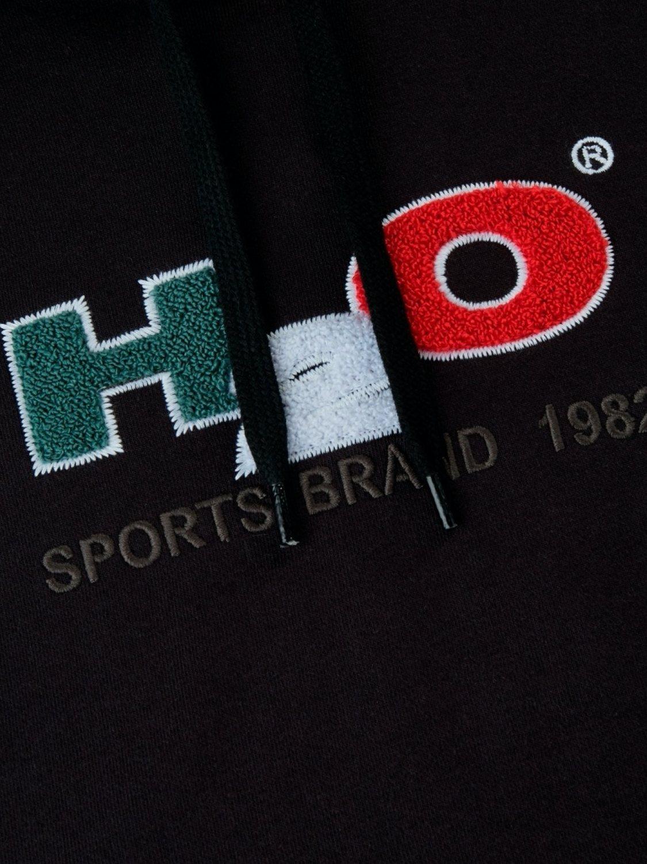 H2O Hoodie - Absalon Logo Black | GATE 36 Hobro
