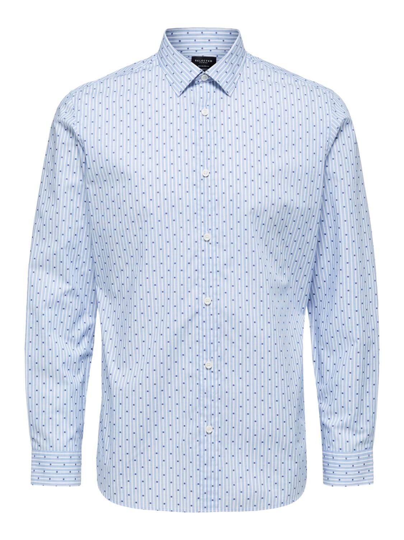 Selected Skjorte - Slhregpen-sixten light blue | Gate36 Hobro