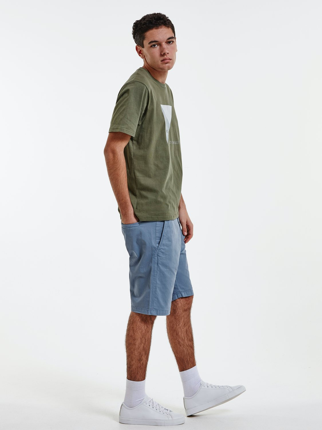 NN07 - CROWN SHORTS 1004 LIGHT BLUE | Gate36 Hobro