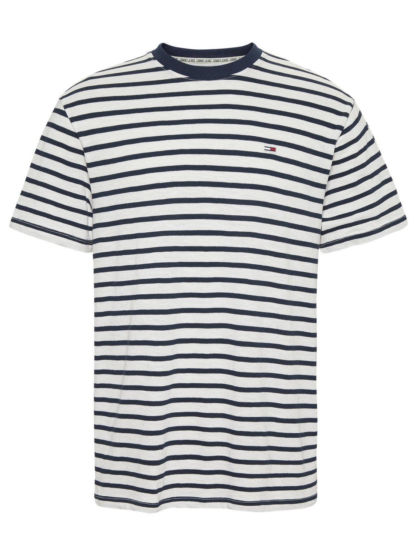 TOMMY HILFIGER - T-shirt Stripe Navy/White | GATE 36 HOBRO
