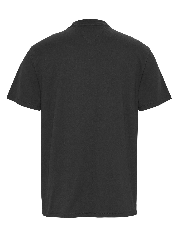 TOMMY HILFIGER - T-shirt Box Logo Black   GATE 36 Hobro