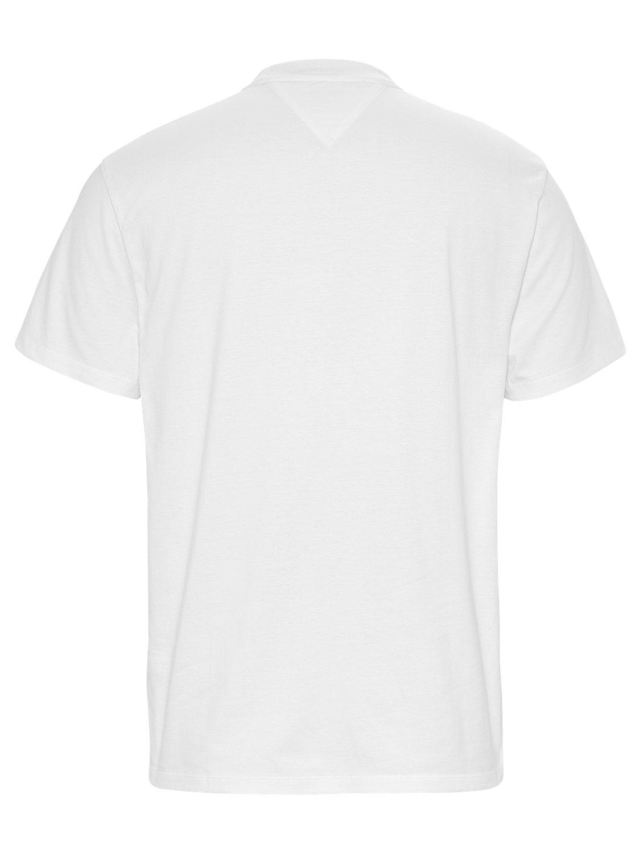 TOMMY HILFIGER - T-shirt Box Logo White | GATE 36 Hobro