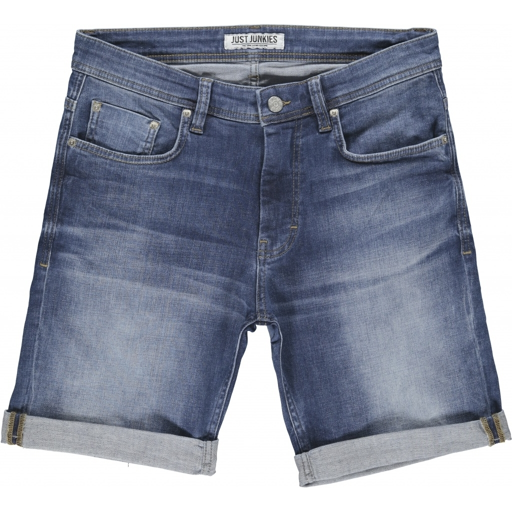 Just Junkies Mike Shorts JJ1760 Deepless Blue | GATE 36 Hobro