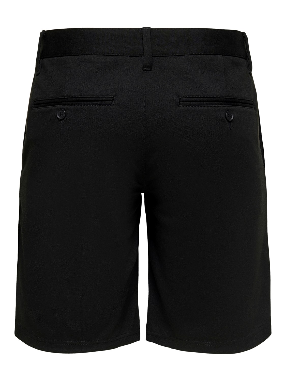 ONLY & SONS - OnsMark Shorts black | Gate36 Hobro